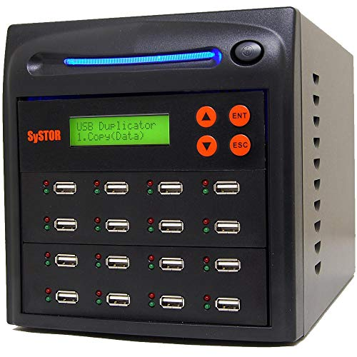 Systor 1 a 15 Multiple USB Duplicatore / Scheda di Memoria Flash USB