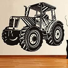 sanzangtang Etiqueta de la Pared del Tractor de conducción Vinilo extraíble Autoadhesivo decoración del hogar Pegatinas de Pared Coche Hueco 126x106cm