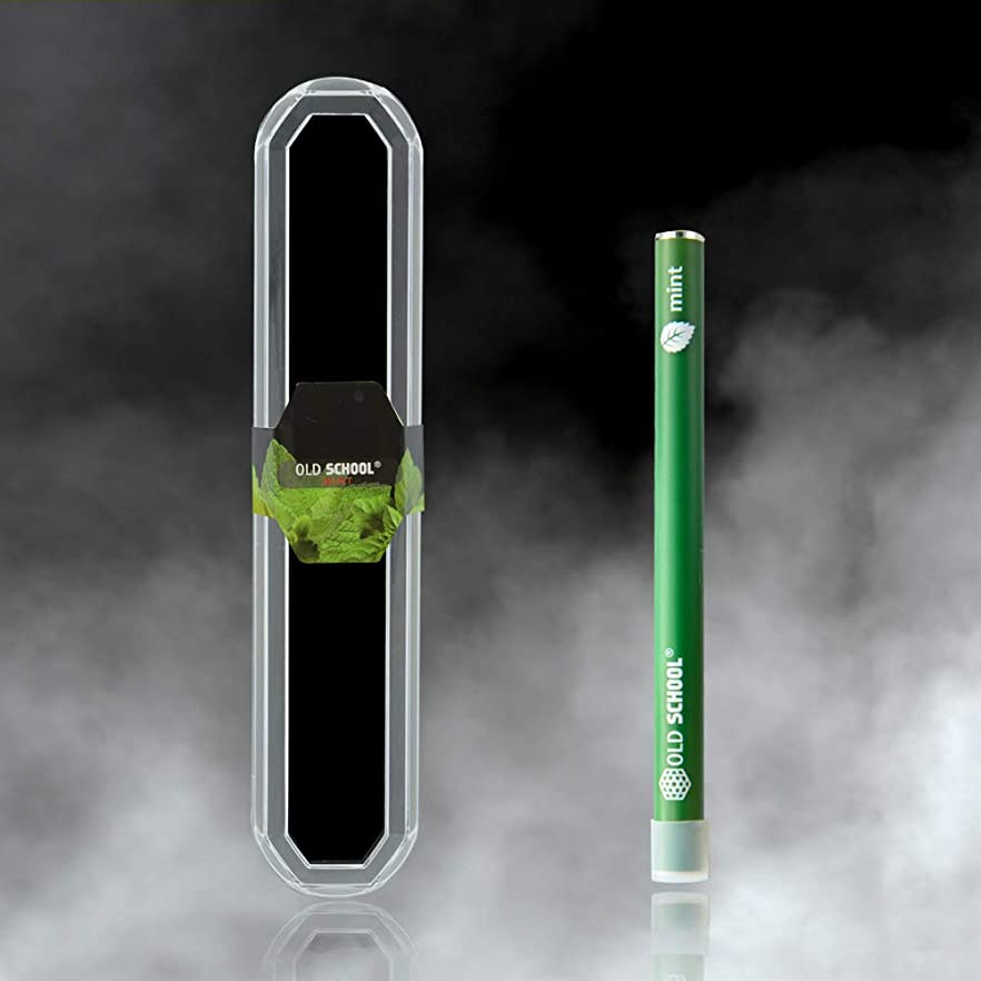 順応性防衛知的OLD SCHOOL アロマセラピー 吸入器自然なやめる喫煙救済無害低下するにはレベルが単に有機と自然なブレンド&加熱アロマセラピーであなた 気分を高める用、息を強調します ミント ミント