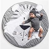 Kinderteppich Kinderzimmer Gepolstert Spielmatte Groß Baumwolle Babyzimmer Dekoration