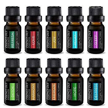 essential oil blend set