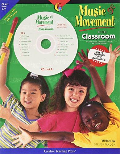Creative Teaching Press® Music & Movement in the Classroom Book & CD, Grades 1-2
