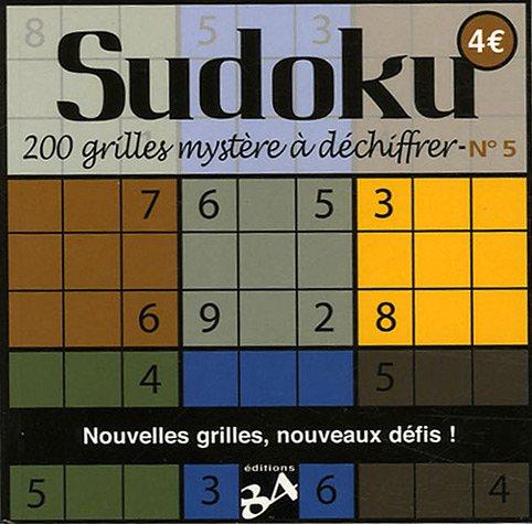 Sudoku t.5 200 grilles mystere a dechiffrer (IMAGINAIRE (NP) (A))