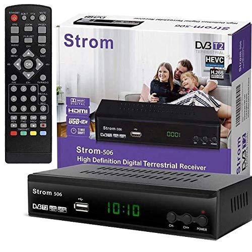 hd-line Strom 506 DVBT-2 - Receptor Digital DVBT/T2 Compatib