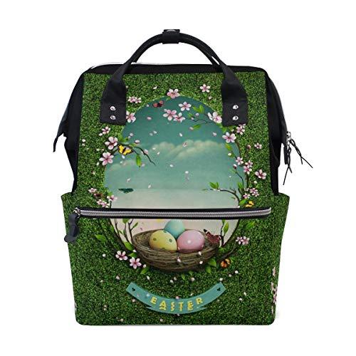 Große Kapazität Rucksack Grünland Spiegel Casual Daypack Rucksack Schultaschen für Studenten Mädchen Frau