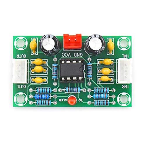 BE YOU TIFUL Mini preamplificador Op amp módulo Amplificador de Doble Canal NE5532 preamplificador Tablero de Tono