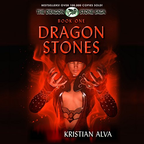 Dragon Stones audiobook cover art