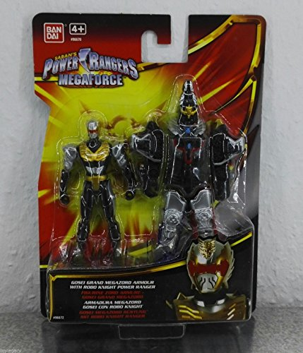 Power Rangers Megaforce - Gosei Grand Megazord Armour with Robo Knight Power Ranger - 10cm