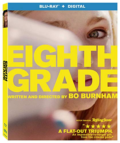 Eighth Grade bluray + digital - $7.59