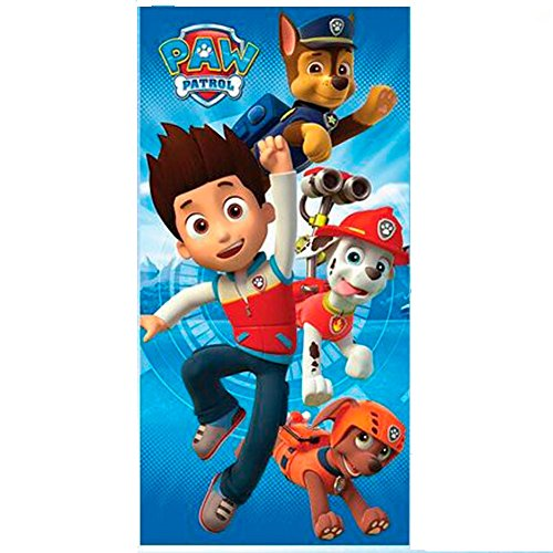 NICKELODEON Toalla playa Patrulla Canina Paw Patrol Together microfibra