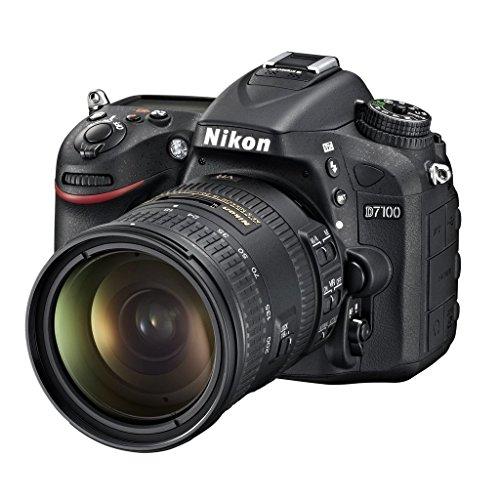 Nikon D7100 + AF-S DX 18-200 mm VR II Juego de cámara SLR 24,1 MP CMOS 6000 x 4000 Pixeles Negro - Cámara Digital (24,1 MP, 6000 x 4000 Pixeles, CMOS, Full HD, 675 g, Negro)