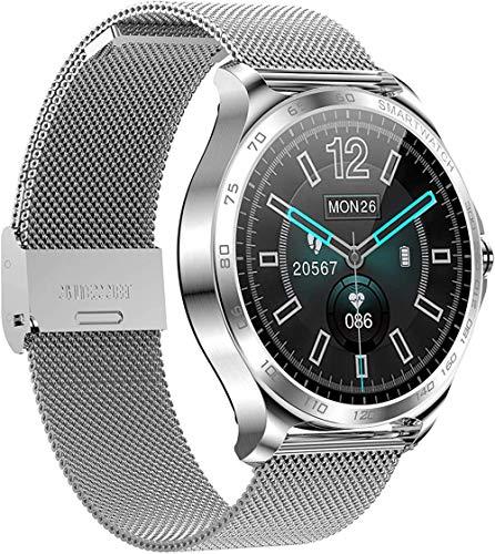 Reloj inteligente para teléfono Android iOS Ip67 impermeable Fitness Tracker reloj con monitor de frecuencia cardíaca, contador de pasos, monitor de sueño, podómetro, reloj inteligente