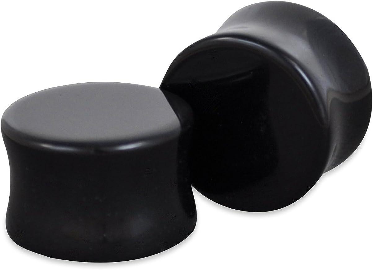 ArcticBuffalo Cheap Pair of Genuine Black Organic Natural Onyx Max 58% OFF Polishe