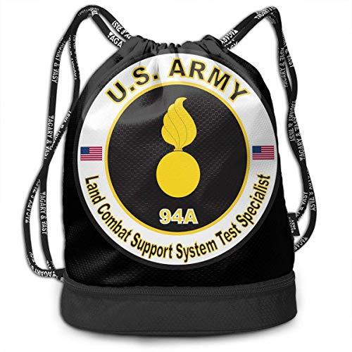 Rucksäcke,Sporttaschen,Turnbeutel,Daypacks, US Army MOS 94A Land Combat Support System Test Specialist Bundle Backpack Funny Tote Bag