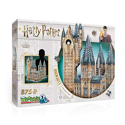 Wrebbit 3D, 3D Puzzle, Hogwarts Astronomieturm - Harry Potter Collection