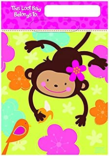Folded Loot Bags | Monkey Love Collection | Party Accessory