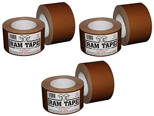"""Ram Board RT3164 3"""" x 164' Rolls Ram Tape - Quantity 6 rolls"""