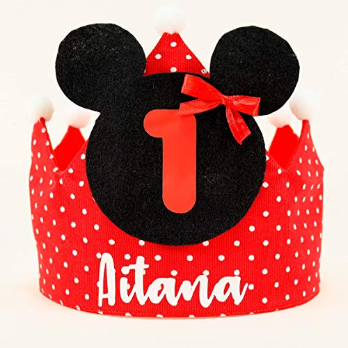 Corona cumpleaños Minnie