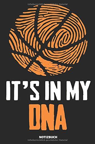 Notizbuch: Basketball DNA (liniert)