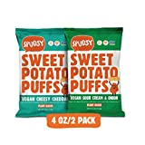 VEGAN & GLUTEN FREE: Enjoy a plant-based sweet potato puff that is certified Vegan, Gluten-Free, Allergen Free, Kosher, and Non-GMO. Baked, never fried, and always tasty! Grab a bag and add a little CRUNCH to your next snack time or meal. FREE OF THE...