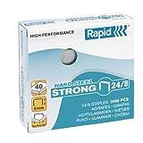 Rapid 24858900 - Caja de 2000 grapas (acero inoxidable, 24/8 mm)
