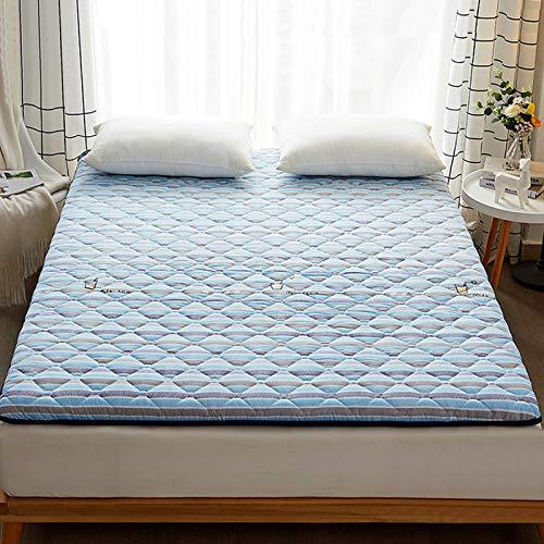 MYYU Tatami Folding Floor Mattress,Student Dormitory Single Adult Mattresses,Japanese Futon Cushion,Futon Mattress Rollable,6,150X200CM