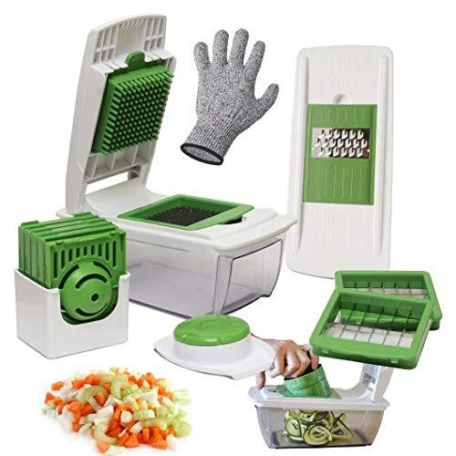 Semarel.Co® Cortador de verduras manual multifunción, cort