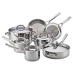 Anolon 30822 Triply Clad Stainless Steel Cookware