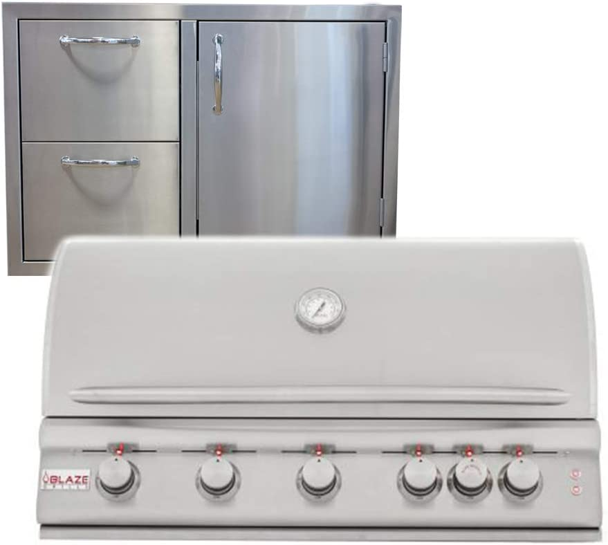 BLAZE GRILLS 40 Inch 5-Burner LTE Topics on TV with price Ma BLZ-5LTE Grill Propane