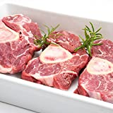 100% Grass Fed Beef Shank 16 Pack – 2lbs Each Pack– Delicious & Healthy Natural Beef Meat, Protein & Omega-3 Rich, Hormone-Free & Non-GMO, Juicy & Ready, Classic American Slow Cooker & Braising Choic