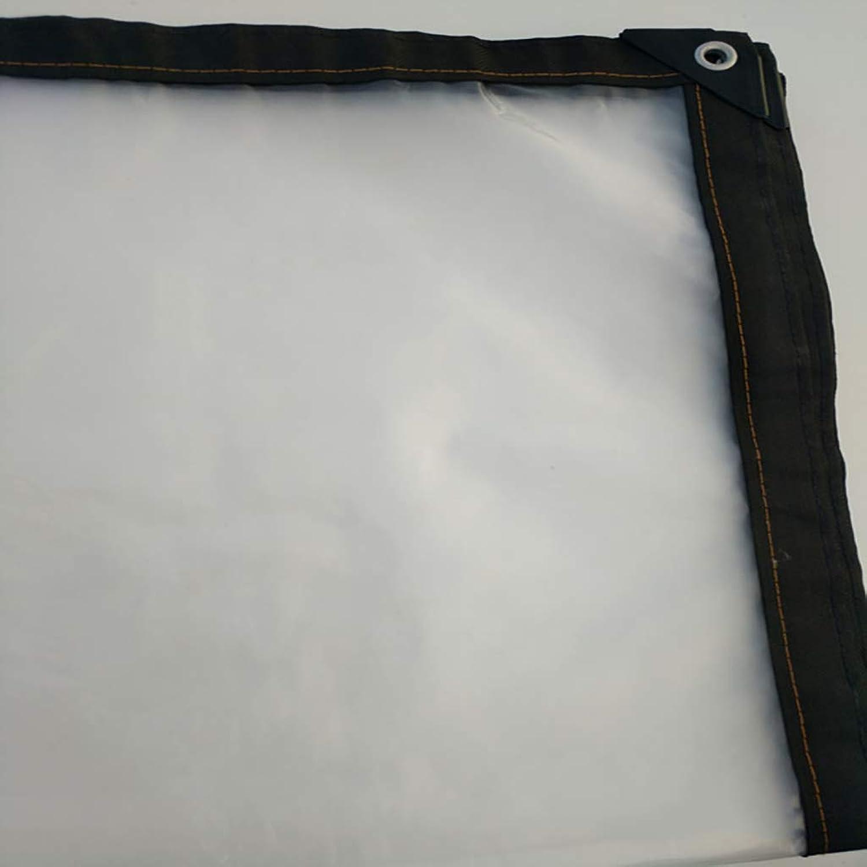 JINSH Außenzelt Transparente Plane wasserdichter Sonnenschutz Kunststoff Tuch Tuch Tuch Außenbalkon staubdicht und kalt (Größe   3x1m) B07Q22KKYX  Hervorragender Stil 3b4baa