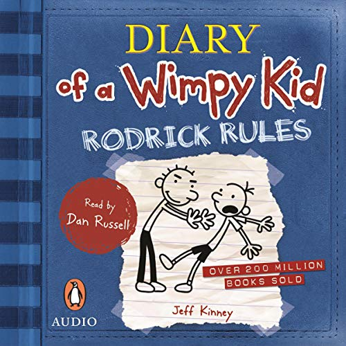 Amazon Com Rodrick Rules Diary Of A Wimpy Kid Book 2 Audible Audio Edition Jeff Kinney Dan Russell Penguin Random House Australia Audio Audible Audiobooks