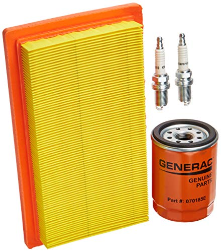 Generac 6485 Scheduled Maintenance Kit for 20kW and 22kW Standby Generators with 999cc Engine , Black