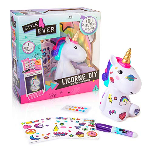 Canal Toys- Unicornio para Colorear, Color Blanco (OFG 106)