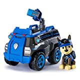 PAW PATROL Paw Vehículo-Chase's Mission Police Cruiser, Multicolor, Talla única (Spin Master Toys Lt...