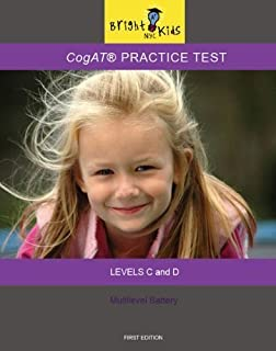 Practice Test for the Cognitive Abilities Test (CogAT® form 6) 5th and 6th grade - Levels E and F (Bright Kids Series)