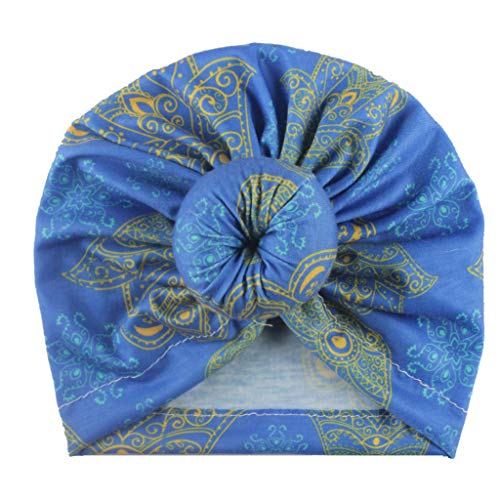 Review KCPer New Newborn Knot Caps Soft Cotton Blend Hat Clothes Accessories Baby Shower Turban Head...