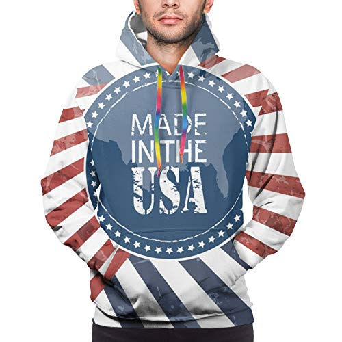 Hangdachang for Made in USA Youth 3D Printed Hooide Sweatshirt with Pocket S