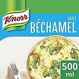 La sauce Béchamel Knorr , un produit incontournable qui deviendra votre petit secret pour des plats encore plus savoureux Fondez pour la sauce béchamel avec sa texture riche et gourmande Cette sauce Knorr est idéale pour accompagner vos gratins de po...