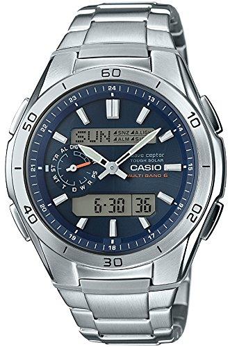 [カシオ] 腕時計 ウェーブセプター 電波ソーラー WVA-M650D-2AJF シルバー