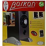 Barkan Model 54-2 Pedestales para Altavoces de Suelo (Capacidad MAX.25 kg)