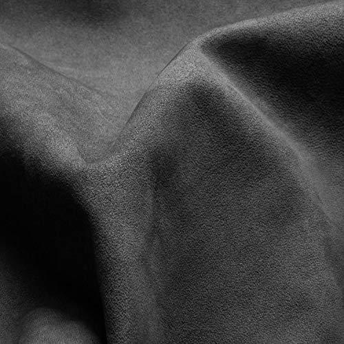 SA ROCA [39,44€/m² Selbstklebender Mikrofaserstoff [Anthrazit I 100 x 152cm] Premium Auto-Folie für hochwertige Wildleder-Optik im Innenraum I Folie für samtige Veloursleder-Optik im Auto