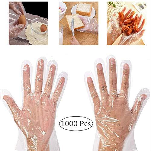 guanti usa e getta Dorall - Guanti da cucina in plastica