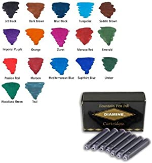 Diamine Saddle Brown fountain pen ink cartridges