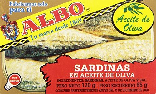 Albo Sardinas en Aceite de Oliva,...