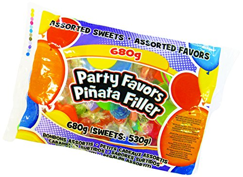Unique Party 80968 - Assorted Pinata Filler Party Favours and Party Sweets, 680g