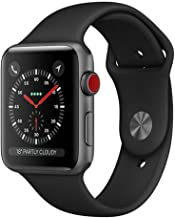 Apple Watch 42mm Series 3 Grey Aluminium Case with Black Sport Band (Cellular)