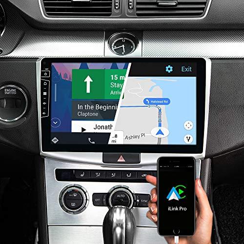 DYNAVIN Autoradio Navi für VW Passat B7, 10,1 Zoll OEM Radio mit Bluetooth, inkl. DAB+, USB, Kompatibel mit Carplay und Android Auto: DX-V-2S Flex