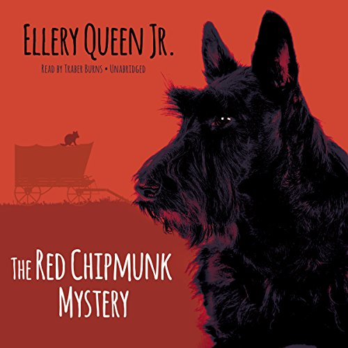 The Red Chipmunk Mystery audiobook cover art