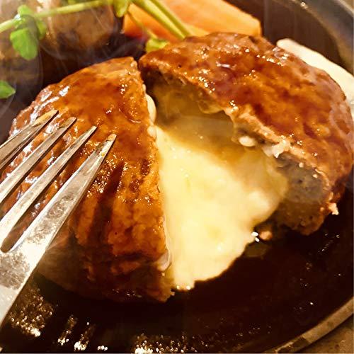 肉汁溢れる ジューシー 柔らか チーズイン ハンバーグ メガ盛り お得な業務用 《*冷凍便》1kg(1袋(10個入り))